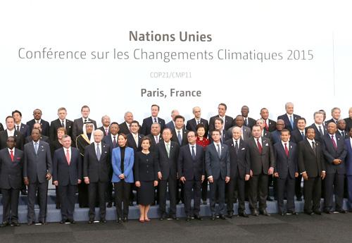 巴黎氣候協定